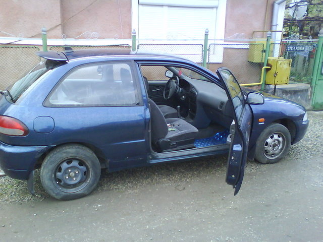 1993 Mitsubishi Colt, this picture was taken on the same day i bought the car., exterior, interior