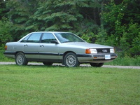 1987 Audi 5000 Overview