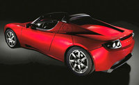 2009 Tesla Roadster Convertible, You can tell it's related to the Lotus Elise., exterior, manufacturer