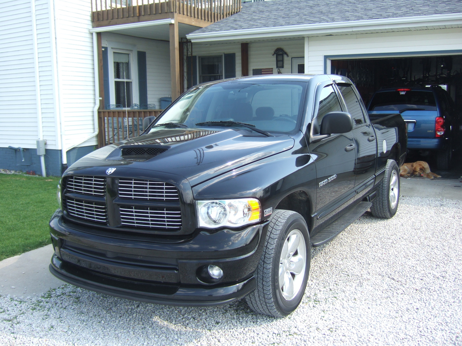 picture of 2004 dodge ram pickup 1500 st quad cab sb 4wd exterior. Black Bedroom Furniture Sets. Home Design Ideas