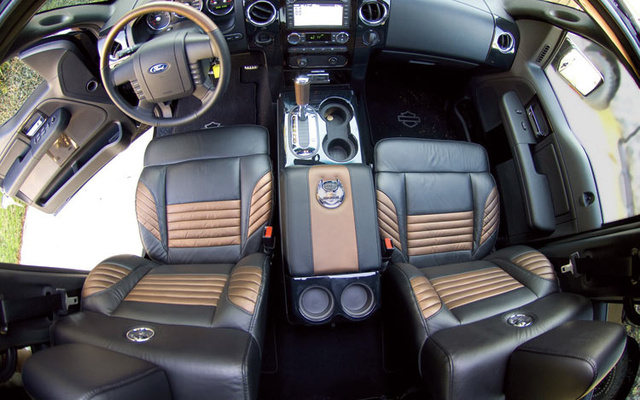 Picture Of 2008 Ford F 150 Lariat SuperCrew SB 4WD, Interior, Gallery_worthy Photo