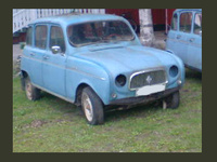 1966 Renault 4 Overview