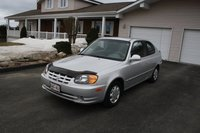 Picture of 2003 Hyundai Accent 2-Door Hatchback FWD, exterior, gallery_worthy