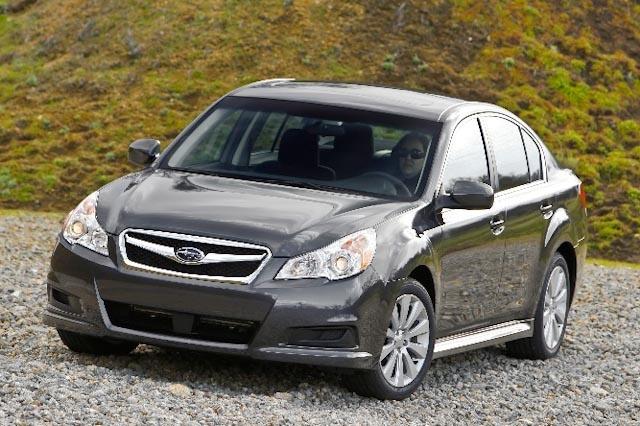 2010 Subaru Legacy, Front Left Quarter View, exterior, manufacturer