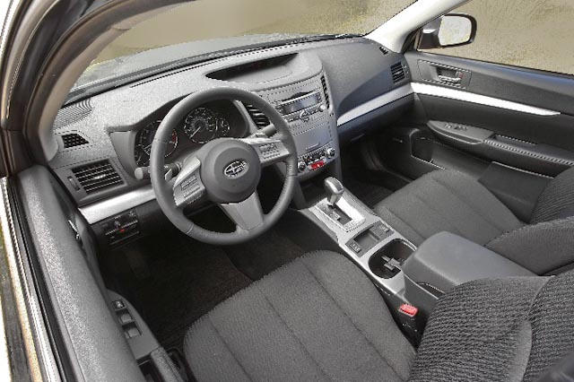 2010 Subaru Legacy, Interior View, manufacturer, interior