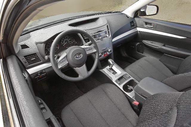 2010 Subaru Legacy, Interior View, interior, manufacturer