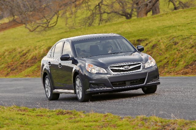 2010 Subaru Legacy, Front Right Quarter View, manufacturer, exterior