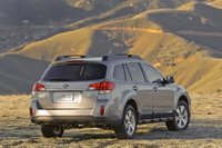 2010 Subaru Outback, Back Right Quarter View, exterior, manufacturer