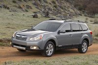 2010 Subaru Outback, Front Left Quarter View, exterior, manufacturer, gallery_worthy