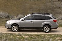 2010 Subaru Outback, Left Side View, exterior, manufacturer