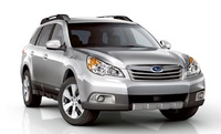 2010 Subaru Outback, Front Right Quarter View, manufacturer, exterior