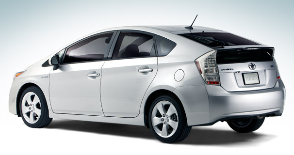 2010 Toyota Prius, Back Left Quarter View, exterior, manufacturer
