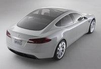 2011 Tesla Model S, Back Right Quarter View, exterior, manufacturer