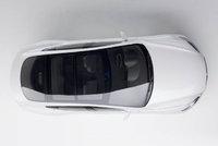 2011 Tesla Model S, Overhead View, exterior, manufacturer