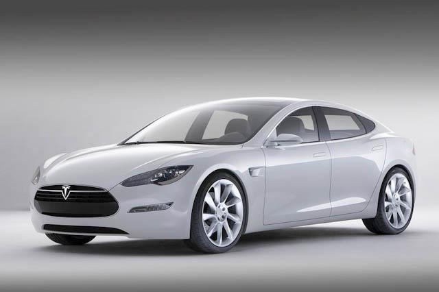 2011 Tesla Model S, Front Left Quarter View, exterior, manufacturer