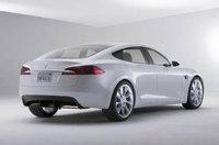 2011 Tesla Model S, Back Right View, exterior, manufacturer