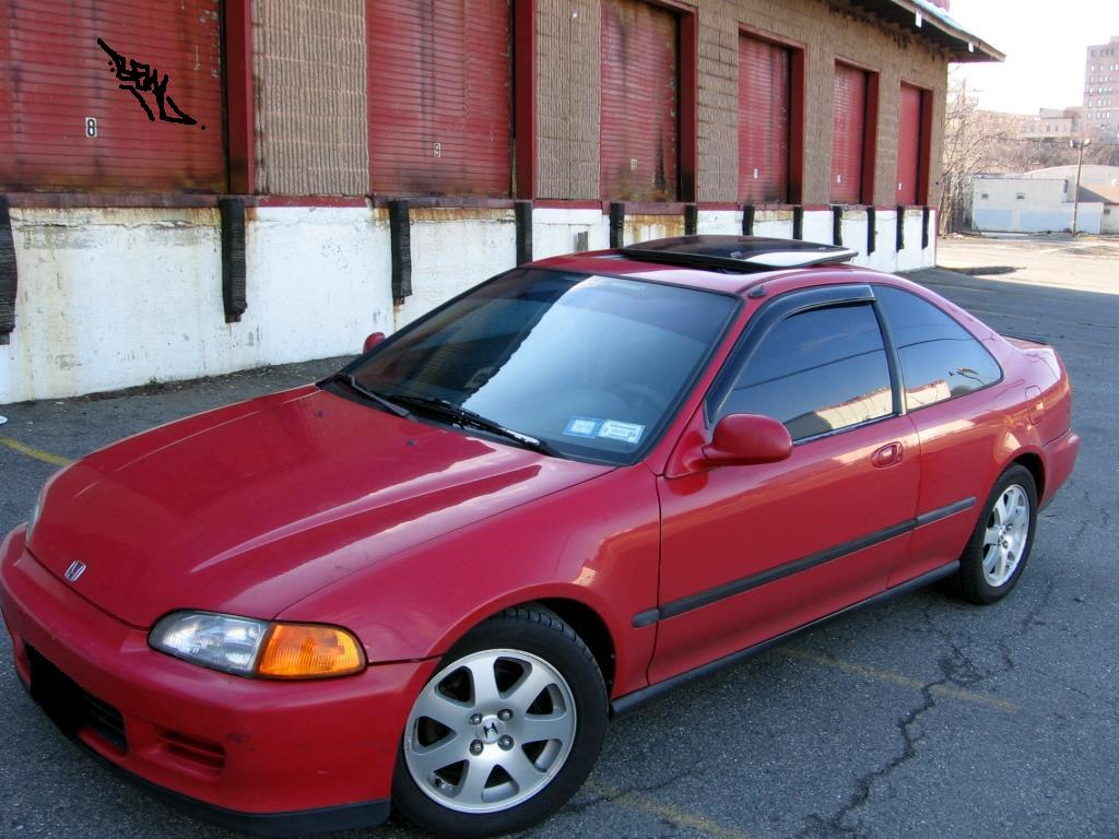 1995 Honda Civic EX Coupe, 1995 Honda Civic 2 Dr EX Coupe picture, exterior