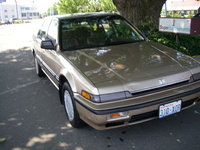 1989 Honda Accord LX, Picture of 1989 Honda Accord Sedan LX, exterior