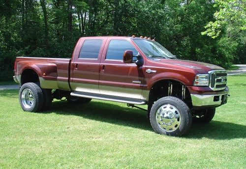2007 Ford F-350 Super Duty, 2008 Ford F-450 Super Duty XLT Crew Cab 4WD picture, exterior