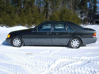 1994 Mercedes-Benz S-Class, Picture of 1994 Mercedes-Benz S500, exterior