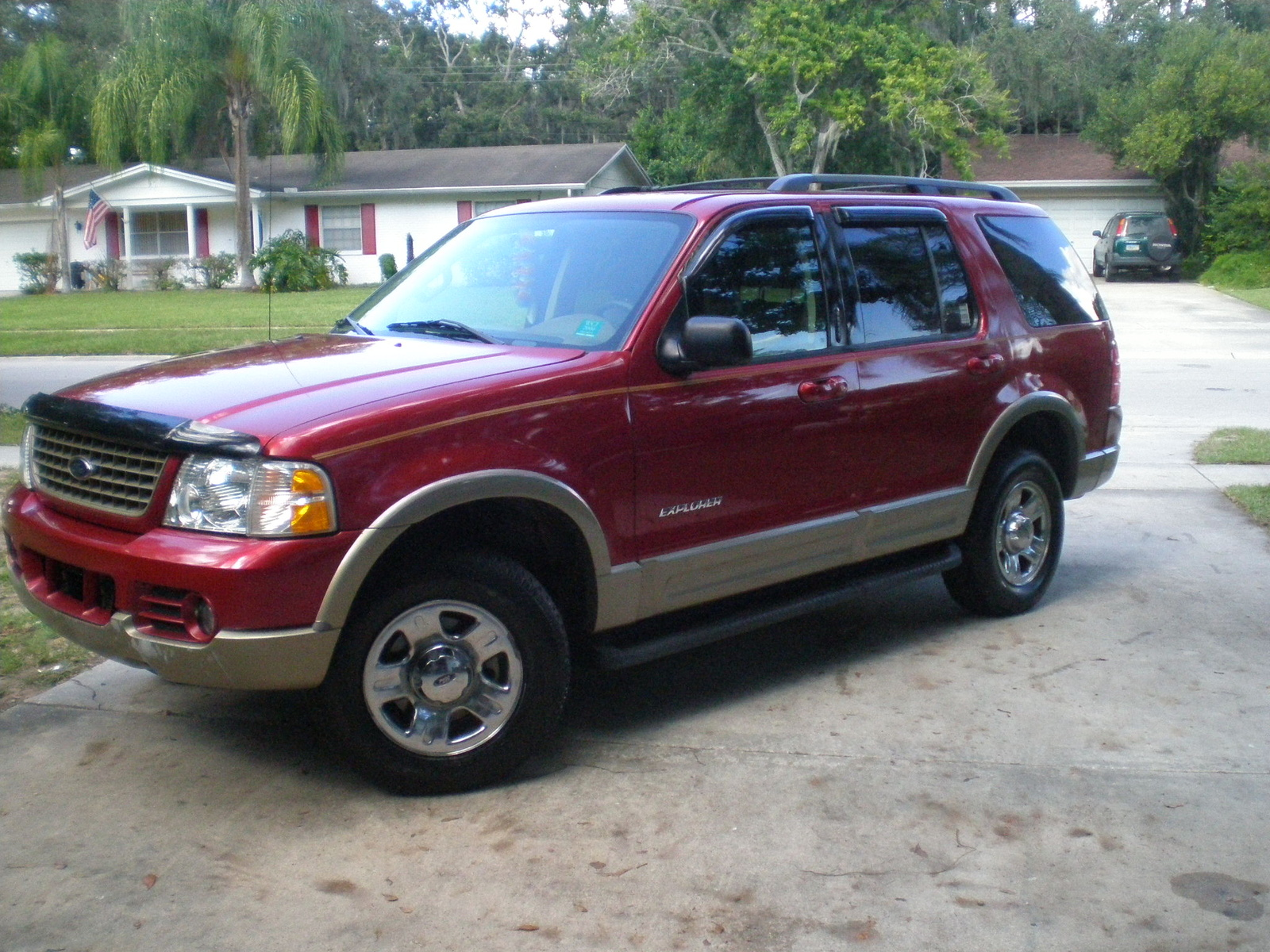 picture of 2004 ford explorer eddie bauer v6 exterior. Cars Review. Best American Auto & Cars Review