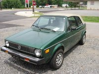 1977 Volkswagen Rabbit, My 1981 Drop Top Rabbit.  1.6L 5sp. no A/C, don't need it with the top down :p, exterior