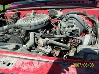 1988 Dodge Dakota picture, engine
