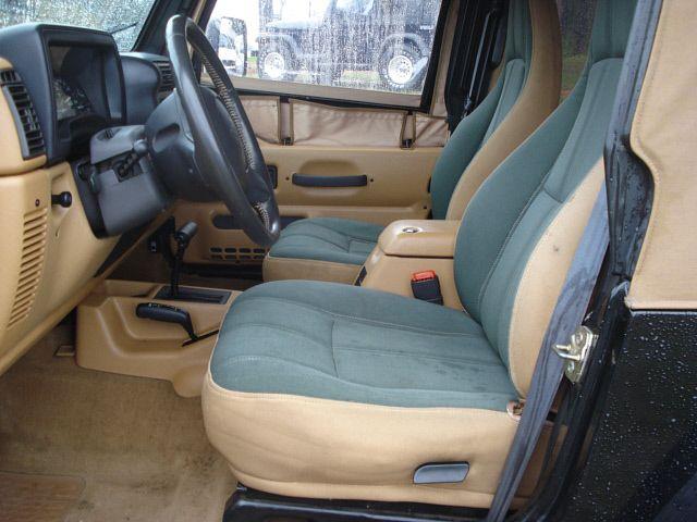 1997 Jeep Wrangler - Interior Pictures