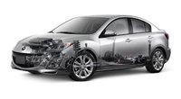 2010 Mazda MAZDA3, Exterior/Interior View, exterior, interior, manufacturer