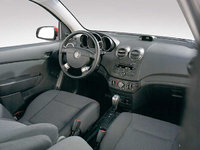 2008 Pontiac Wave, Interior View, interior, manufacturer