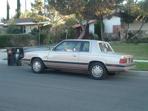 Picture of 1989 Dodge Aries, exterior