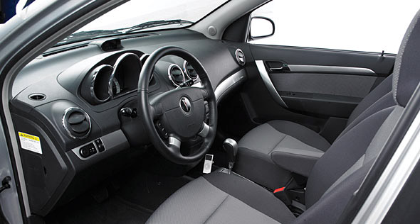 2009 Pontiac G3 Wave, Interior View, interior, manufacturer
