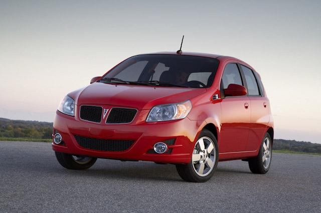 2009 Pontiac G3, Front Left Quarter View, exterior, manufacturer