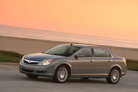 2009 Saturn Aura, Front Left Quarter View, exterior, manufacturer