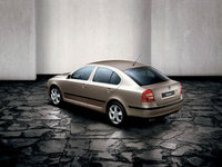 2009 Skoda Octavia, Back Left Quarter View, exterior, manufacturer