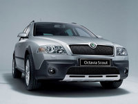 2009 Skoda Octavia, Front Right Quarter View, exterior, manufacturer