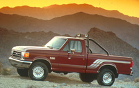 1990 Ford F-150, Left Side View, manufacturer, exterior
