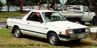1987 Subaru Brumby Overview