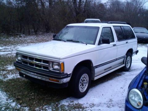 Chevrolet Blazer 1996. 1993 Chevrolet Blazer 2 Dr STD