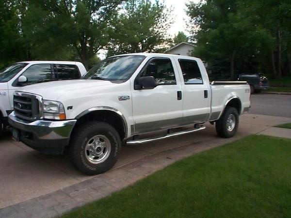 Picture of 2002 Ford F-250 Super Duty Lariat 4WD Crew Cab SB, exterior, gallery_worthy