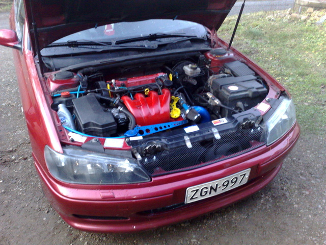 Picture of 1997 Peugeot 406, engine
