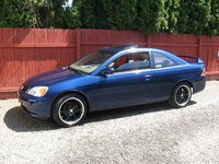 2001 Honda Civic Coupe (New Rims), exterior