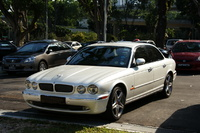 2005 Jaguar XJR 4 Dr Supercharged Sedan picture, exterior