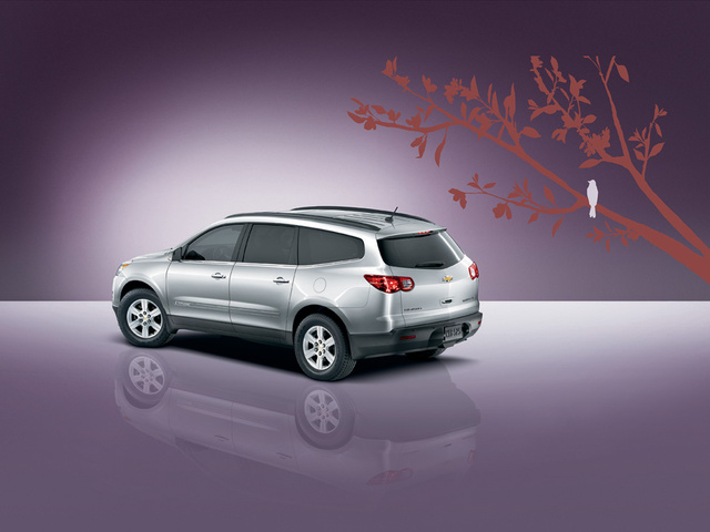 Picture of 2009 Chevrolet Traverse 1LT FWD, exterior, manufacturer, gallery_worthy
