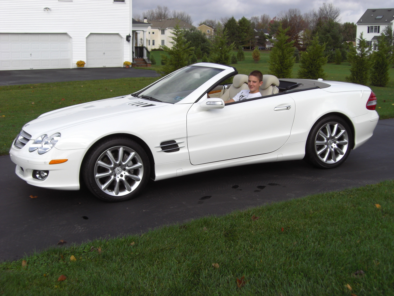2007 mercedes benz sl class pictures cargurus. Black Bedroom Furniture Sets. Home Design Ideas