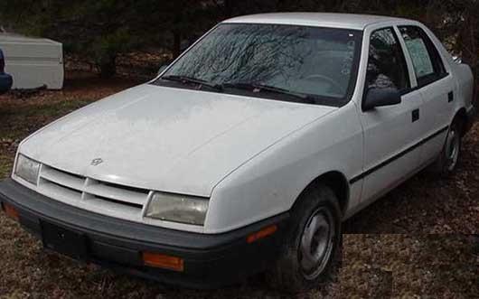 1990 Dodge Shadow 4 Dr ES Hatchback picture, exterior