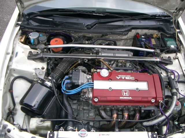 Picture of 1996 Honda Integra, engine