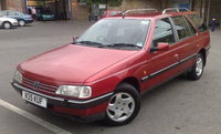 1995 Peugeot 405 Overview