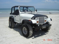 1992 Jeep Wrangler S, 1992 Jeep Wrangler 2 Dr S 4WD Convertible picture, exterior