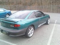 1997 Chevrolet Cavalier Base Coupe, 1997 Chevrolet Cavalier 2 Dr STD Coupe picture, exterior